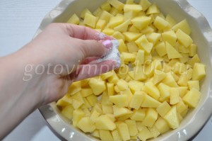 посолим картофель