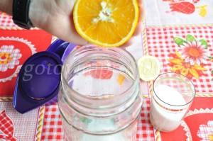 Выдавим сок апельсина