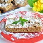 Бисквитный шоколадный пирог