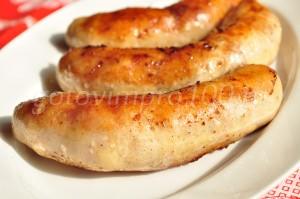 Готовая колбаска