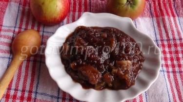 как приготовить повидло из яблок