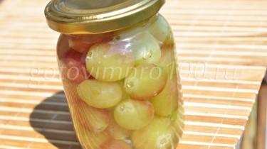 маринованный виноград рецепт с фото