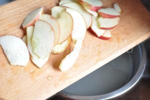 отварим яблоки