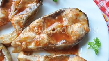 рыба тушеная в мультиварке рецепт с фото