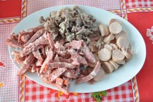 оберем мясо