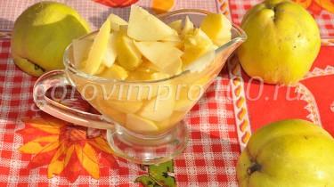 Вкусное варенье из айвы рецепт с фото