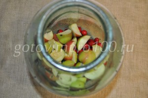 яблоки нарежем