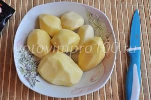 очистим картофель