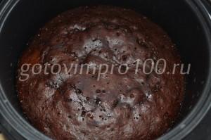 пирог после выпекания