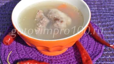 суп с перловой крупой рецепт