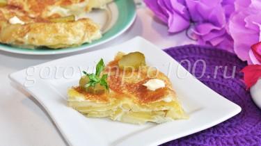 тортилья с картошкой