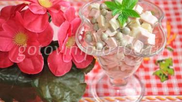 салат оливье рецепт с фото пошагово