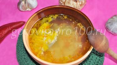 как приготовить суп из скумбрии