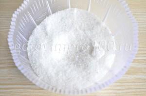 соедините соль и сахар
