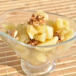 Яблочное варенье с орешками