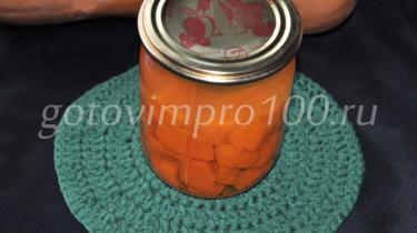 компот из тыквы на зиму рецепт