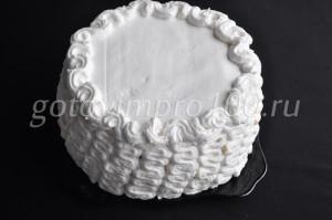 смазанный торт