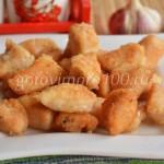 Карбонат из куриного филе с золотистой корочкой