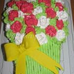Торт «Букет роз»