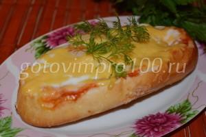 готовый бутерброд