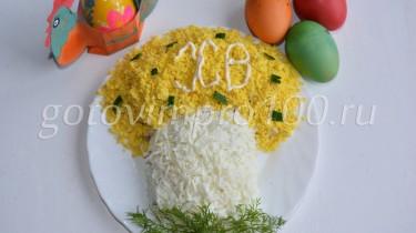 салат на пасху рецепт с фото