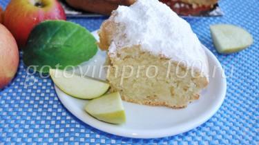 кекс из яблок рецепт с фото
