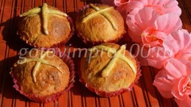 пасхальные булки рецепт с фото