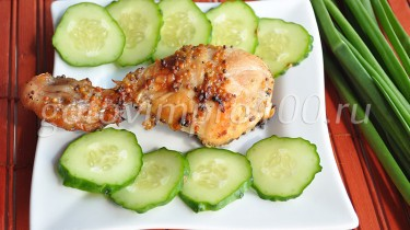 курица в горчичном маринаде в духовке
