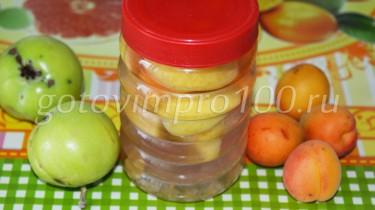 компот из абрикос и яблок рецепт