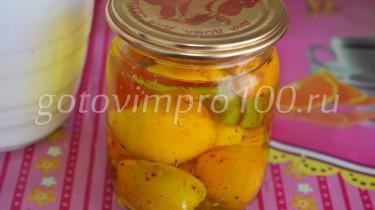 компот из абрикосов без варки