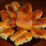 Воздушные пирожки с абрикосовой начинкой