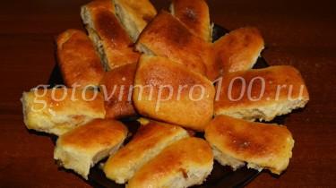 дрожжевые пирожки с абрикосами рецепт