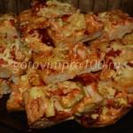 Сочная пицца на дрожжевом тесте