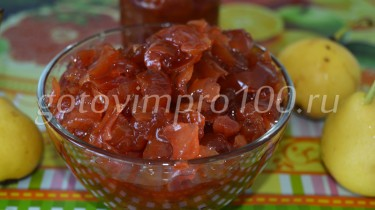 варенье из груш пошаговый рецепт с фото