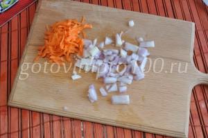 натрите морковь