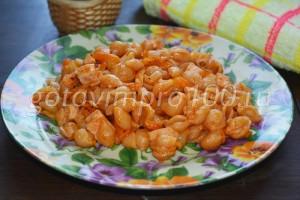 готовые макароны