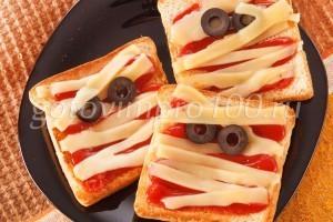бутерброды на хэллоуин