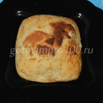 Постный пирог из картофеля с грибами