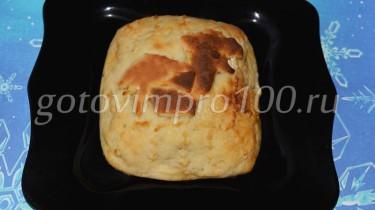 картофельный пирог с грибами в духовке
