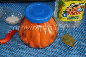 готовая морковь
