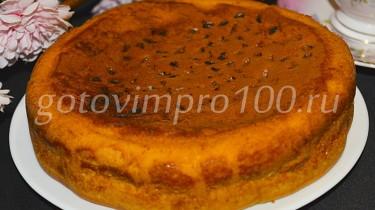 бисквит на молоке рецепт с фото