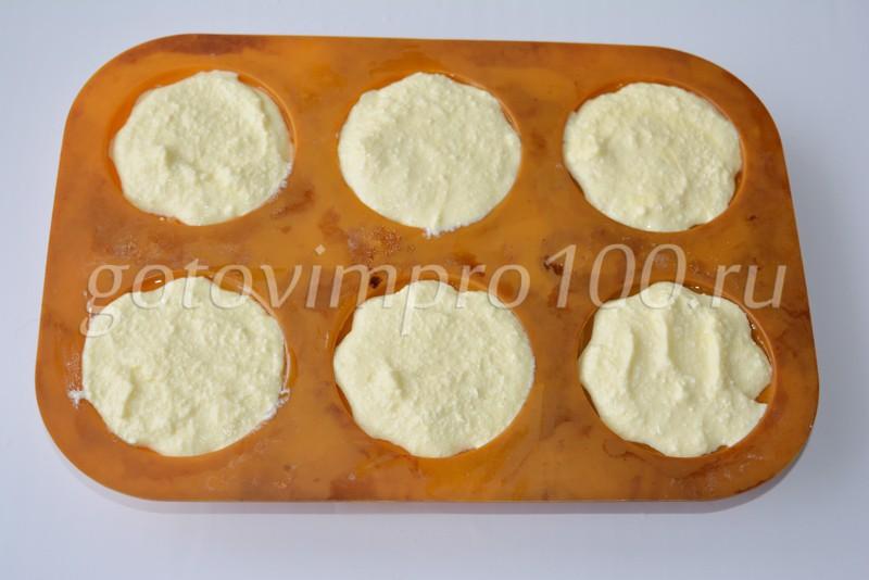 Сырники в духовке в формах пошаговый рецепт с