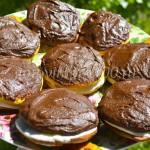 Бисквитное пирожное «Буше»