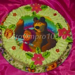 Вафельный торт с картинкой