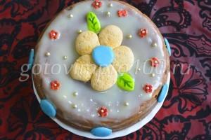Украшаю торт