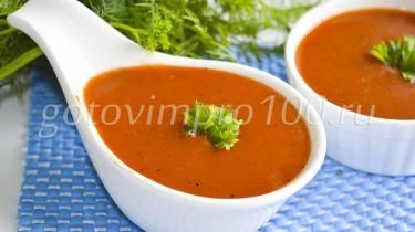 Рецепт домашнего кетчупа с болгарским перцем