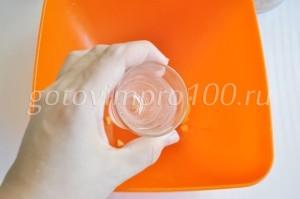 Влейте воду