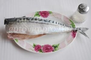 Очистите рыбу