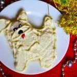 Салат Собачка на Новый год 2018 с крабовыми палочками