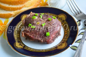 Готовая говядина